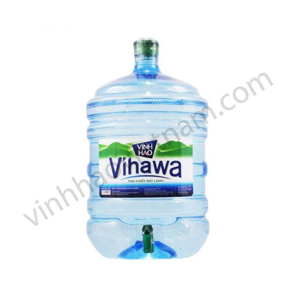 Nước tinh khiết Vihawa đóng bình vòi 20L