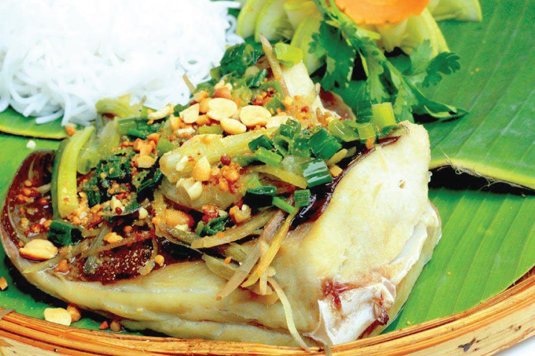 Cá Lồi xối mỡ đặc sản Tuy Phong