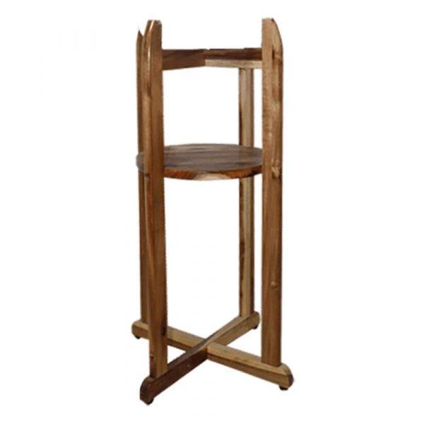 Chân kệ để bình nước bằng gỗ