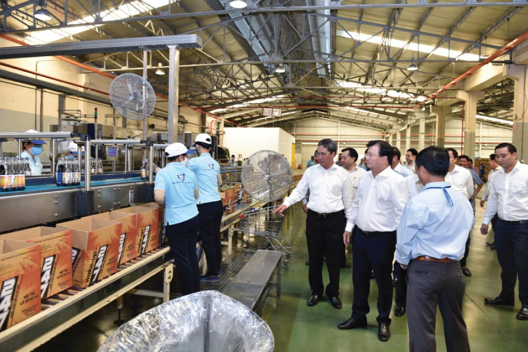 Nhà máy sản xuất nước khoáng Vĩnh Hảo tại Bình Thuận