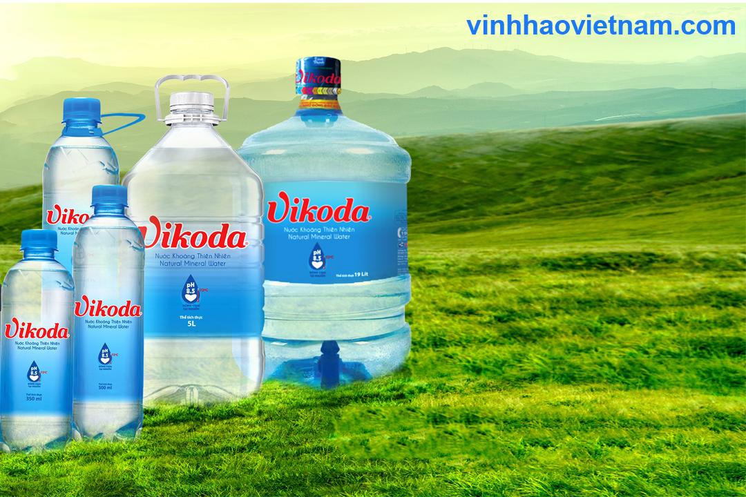 Nên chọn mua nước khoáng Vĩnh Hảo hay Vikoda?