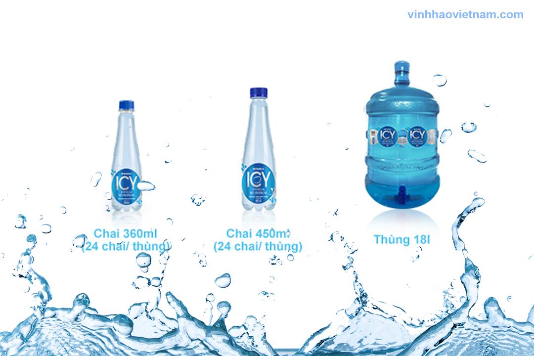 Nước tinh khiết Icy